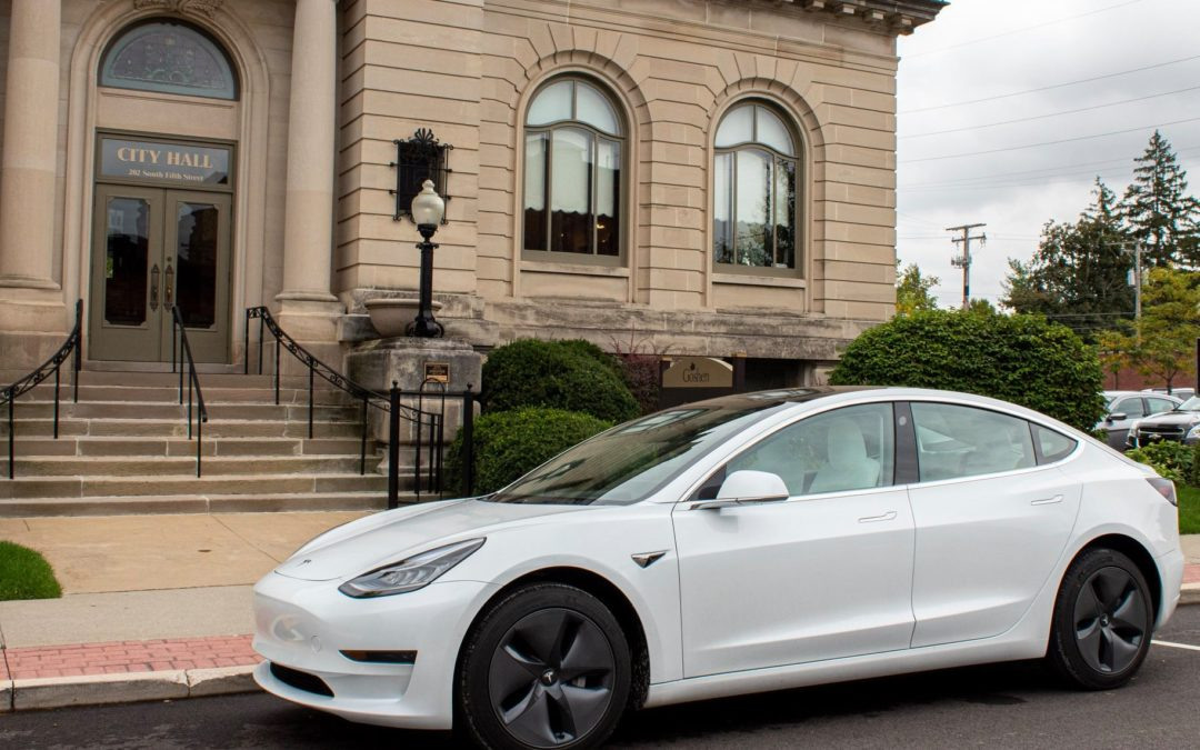 City Purchases First Electric Vehicle